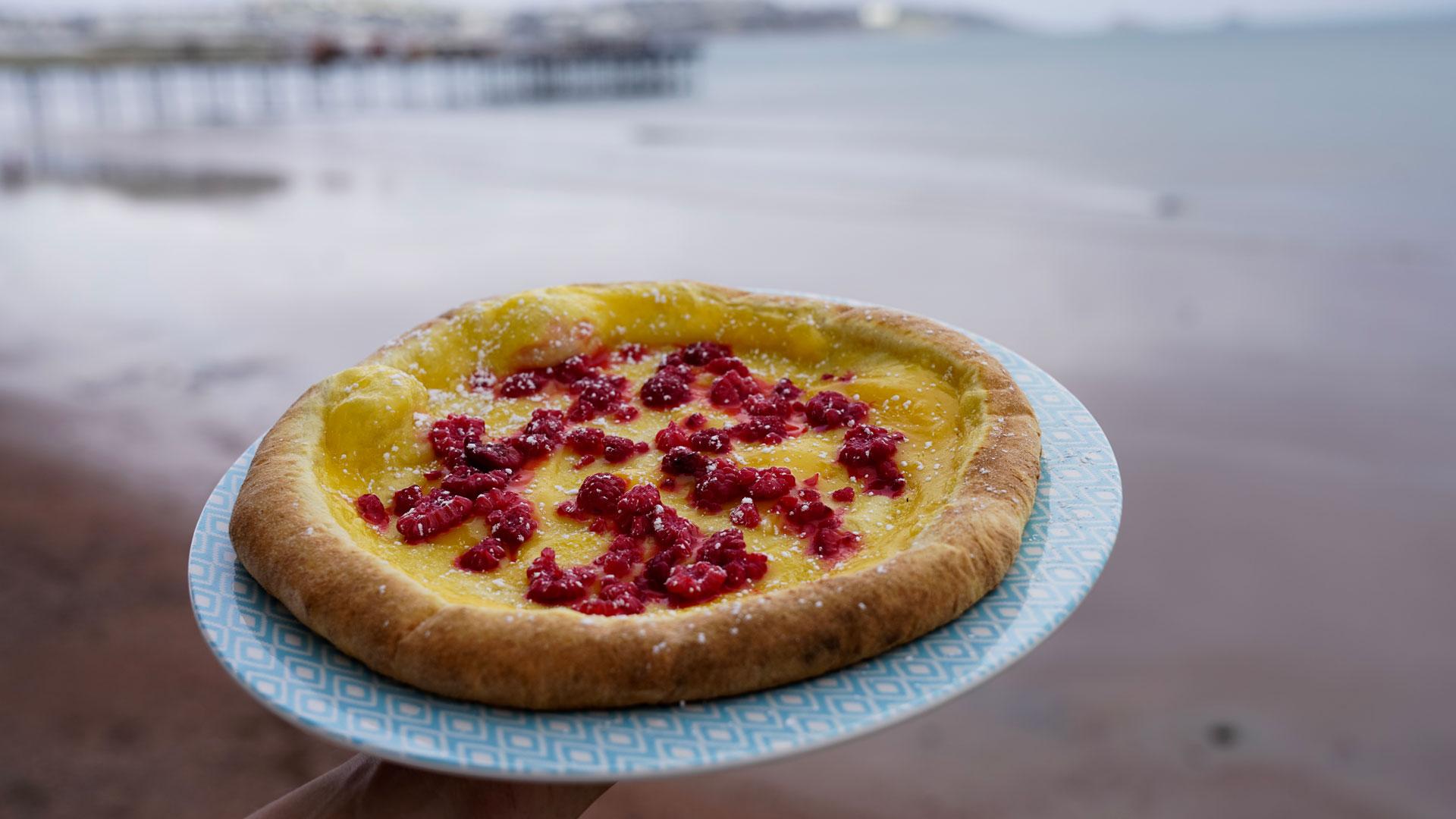 Dessert Pizza | Shoreline at Paignton Beach